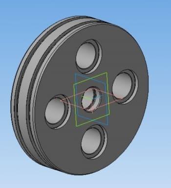 11.Поршень верхний 3D-модель