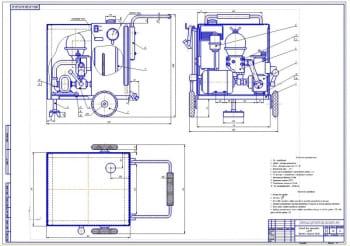Разработка стенда для промывки автоматических коробок переключения передач АКПП