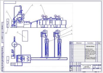 Варочная колонка для приготовления сиропа технологической линии А2-ШЛТ для производства карамели