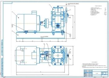 Проект привода с цилиндрическим одноступенчатым редуктором