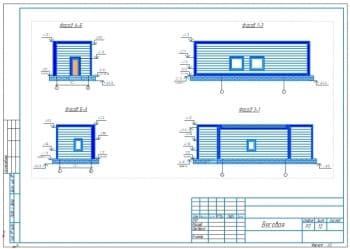 Проект здания весовой