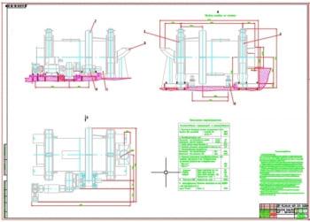 Проект шаровой мельницы МШР для обогатительной фабрики для работы с насыпной рудой