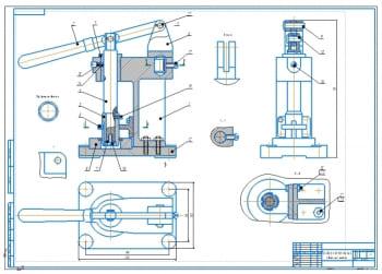 Конструкция прибора для контроля стопорного кольца