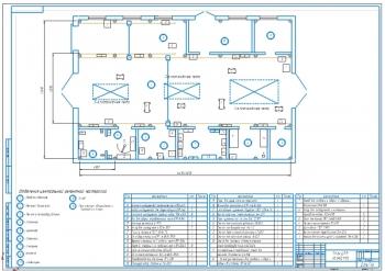 План центральной ремонтной мастерской (ЦРМ)