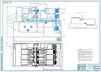 Расточный станок для восстановления зеркала цилиндров ДВС