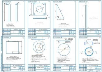 Конструкторская разработка маслораздаточного бака емкостью 50 литров