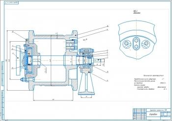 Проект лебедки грузоподъемностью 32кН