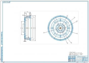 Ремонтный чертеж и восстановление тормозного барабана