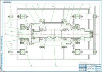 Конструктивная разработка дебалансного вала вибрационного дорожного катка