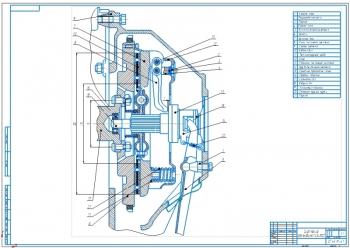 Конструкция сцепления автомобиля ГАЗ-3102