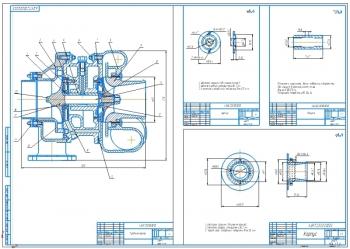 Турбокомпрессор двигателя КАМАЗ 740
