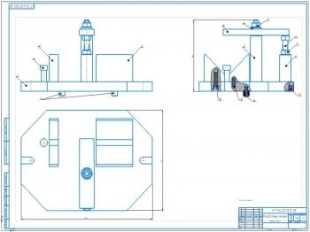 Разработка зажимного приспособления для обработки детали фрезерованием на станке 6Р12