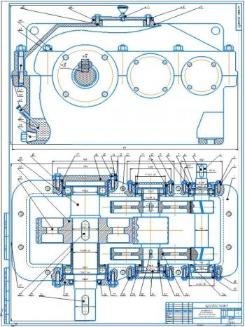 Проект привода с цилиндрическим двухступенчатым редуктором общего назначения