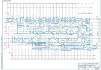 Набор чертежей проекта цеха холодной прокатки для обработки листового металла