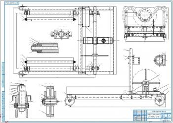 Конструктивная разработка стенда для снятия, установки колес транспортных средств