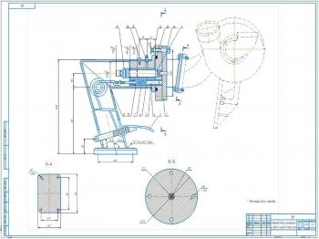 Конструктивная разработка стенда для разборки-сборки турбокомпрессоров