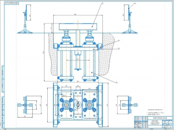 Конструкторская разработка оптического стенда для проверки и установки углов развал-схождения колес
