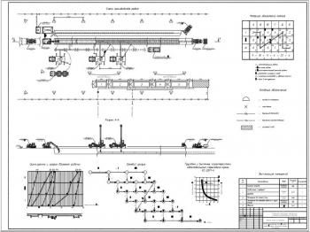 Проект газопровода среднего давления из стальных труб (грунт - песок)