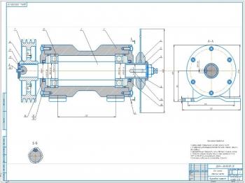 Проект конструкции круглопильного прирезного станка ЦДК 4-1 для раскроя пиломатериалов