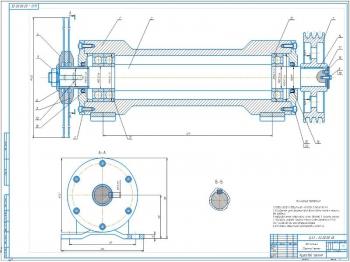 Проект диленно-реечного станка с роликово-дисковой подачей ЦА-3 для распиловки пиломатериалов