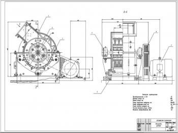 Модернизация конструкции однороторной молотковой дробилки С-218А