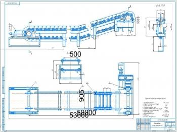 Проектирование пластинчатого конвейера для транспортировки кокса