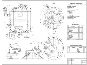 Реактор Р101 для приготовления растворов медицинских препаратов на 300 л