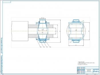 Проект ремонта телескопического подкоса башенного крана