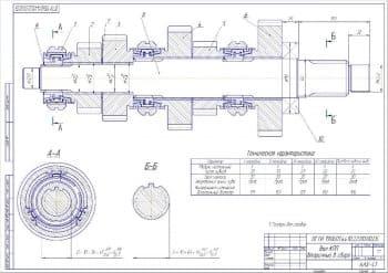 Чертежи сборочный компоновки КПП ГАЗ-3110