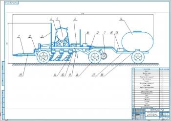 Конструктивная разработка модернизации сеялки-культиватора СШ-3,5