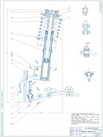 Передняя независимая подвеска ВАЗ-2110