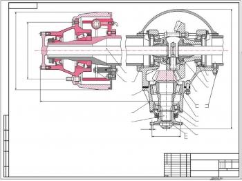 Проектирование ведущего моста автобуса 4-го класса категории М3