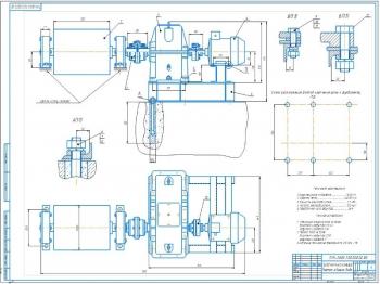 Привода конвейера ленточного типа