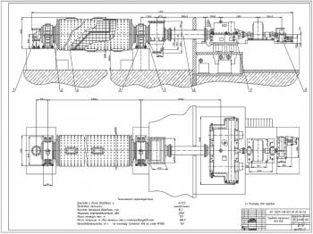 Модернизация шаровой трубной мельницы 4х13,5