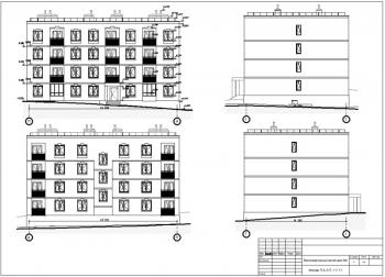 Проект многоэтажного жилого дома на 27 квартир