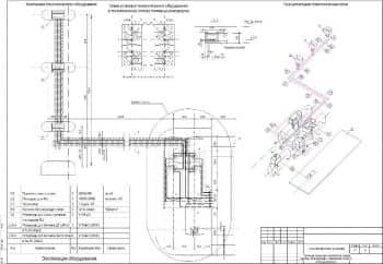 Набор рабочих чертежей и проектной документации с технологическими решениями для автозаправочной станции