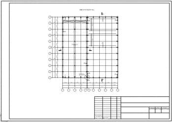 13.Чертеж плана ремонтного цеха на отметке +0.000 в масштабе 1:400, с указанием размеров (формат А3)