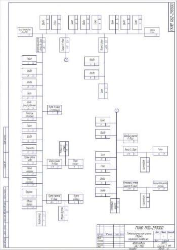 13.Чертеж графического изображения к расчету размерной цепи в масштабе 1:2