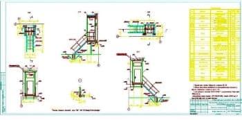 14.Чертеж площадок входных Плв1 и Плв2 с техническими требованиями