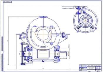 Сборочные чертежи механизма подъема груза крана-стрелы