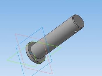15.Модель 3D оси