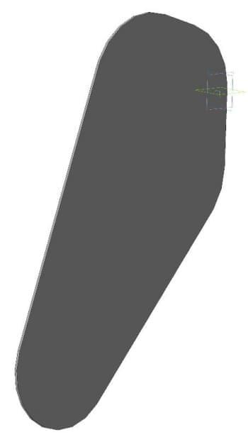 16.Деталировочный чертеж кожуха правого в 3D формате