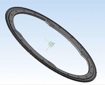16.Среднее кольцо – деталь в 3D