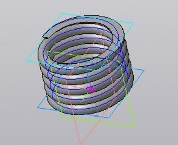 16. 3D-модель пружины