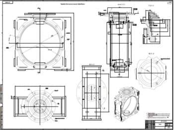 Чертежи сборочных единиц двигателя стрилинга