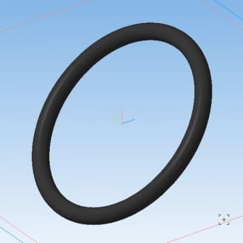 17.Деталь кольцо в 3D
