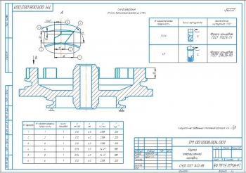 17.Карта операционной наладки - операция 045 Фрезерования (А3)