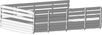 17.Сборочный чертеж кузова автомобиля грузового ЗИЛ-433440 в 3D формате