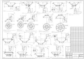 Чертежи изготовления крышки редуктора: отливка, эскизная карта на токарные операции и рабочий чертеж крышки