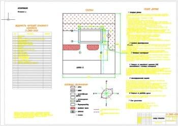 Чертежи проекта строительства склада оснастки